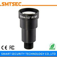 "Wholesale M12 Lens Hd - Wholesale- SMTSEC SL-HD5025BMP HD 5MP Megapixel 50mm 1 2"" F2.5 M12 Mount Lens for HD CCTV Security IP Camera"