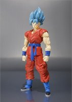 Wholesale Anime Figure Dragon Ball - 15cm Anime Dragon Ball z Super Saiyan Son Gokou Son Goku PVC Action Figure Movable Joints Collection model Toy Hot Collection Toys
