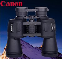 Wholesale Night Vision Binoculars Wide Angle - Wholesale-Free shipping Canon telescope 20X50 Binoculars High quality Hd wide-angle Central Zoom day and Night Vision telescope