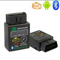 Analizzatore diagnostico dell'interfaccia di Bluetooth dell'automobile del ELM327 V2.1 OBD2 per Android con lo strumento CD 10 pc / lotti, trasporto libero