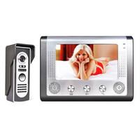 "Wholesale Doorbell Intercom Vision - Hot New Wholesale 7"" Video Door Phone Doorbell Door Bell Intercom Camera Monitor Night Vision B485"