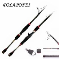 Wholesale Carbon Rods For Carp Fishing - 1.95~2.7m Lure rod pod carbon spinning casting fishing pole carp feeder rod telescopic olta peche pesca fit for shimano reel F