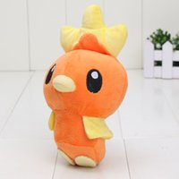 Dropshipping Plush Pas Cher-6 '' 16cm Retail Rare Center TORCHIC en peluche Dolls Dropshipping