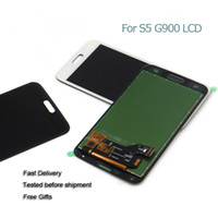 Wholesale lcd touch kit - High Quality For Samsung Galaxy S5 I9600 LCD Touch Digitizer Full Assembly 1PCS With Free Shipping and Repair Tool Kit
