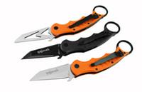 Wholesale Training Fox Karambit Knives - Hunting Knife 4 Styles FOX Karambit Folding Claw Knife FOX DART 440C Blade 60HRC Sharp Training Knife F48E