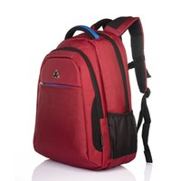 Wholesale Cheap Bags Wholesale China - Cheap Promotion price Man Woman Students Business Backpack Laptop Zipper Bag Leisure trave outdoor Laptop bag Red black grey blue colors