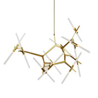 Wholesale Minimalist Designs - Modern Hill Agnes Lighting Minimalist Art Decoration Branch Agnes Light Famous Italian Lamp Design Living Room Agnes Chandelier