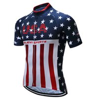 Wholesale 5xl Bicycle Jersey - Teleyi Sport Bike Team Racing Cycling Jersey Tops Summer Bicycle Cycling Clothing Ropa Ciclismo Breathable MTB Bike Jersey Shirt