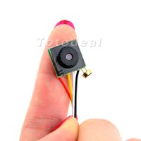Wholesale Spy Camera Wires - HD 700TVL Mini CCTV Camera Wired Security Video Surveilance Cam Spy Audio Cam 12mm*12mm
