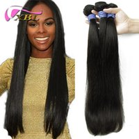 Wholesale change hair - Hot Selling XBL Virgin Brazilian Hair Straight Can Change Hair Color Straight 3 Bundles DHL Free Shipping