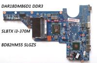 Wholesale Motherboard For Hp G6 - Classy Laptop Motherboard For HP Pavilion G6 G4 G7 Laptop with CPU SLBTX i3-370M Chipset HM55 PN DA0R23MB6D1 DDR3 100% Work