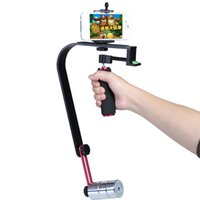 Wholesale Camera Steadicam - Photography Equipment New Pro Smooth Video Stabilizer Handheld Handle Cam Grop Steadicam for DV Camcorder DSLR Camera