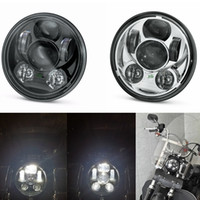 Wholesale Dyna Led Headlight - Original 5-3 4 in.Harley Daymaker Projector LED Headlamp For Harley Dyna Street Bob Harley Breakout sportster 883 XL 1200 FXDLS