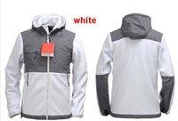 Wholesale Men Classic Hooded Jacket Hoodie - EMS free shipping Men's Outdoor Classic denali Fleece Hooded Fashion Jacket Windproof face north amercian winter hoodies coat