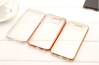 Wholesale Galaxy Note2 Luxury Case - Bling Soft TPU Case Plating For Samsung Galaxy On5 G550 On7 Xiaomi 4 5 Mi4 Mi5 4C Redmi 2 3 NOTE NOTE2 NOTE3 Luxury Skin Cover 10pcs