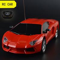 coches rc al por mayor-Venta al por mayor-1/24 Drift Speed Radio Control remoto Coche RC RTR Truck Racing Car Toy Regalo de Navidad Control remoto RC Cars