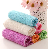 Wholesale Ordering Bamboo Cotton Wholesale - Hot sale Cotton wipes bamboo fiber washing towel non-stick oil clean cloth clean daily CC007 Cleaning Cloths mix order as your needs