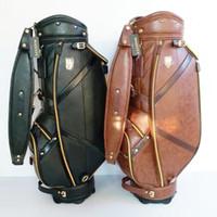 hochwertige golfwagen großhandel-Neue mens maruman majestät golftasche Hohe qualität 9,5 zoll Golfclubs tasche 3 farben in wahl Golfwagen beutel Freies verschiffen