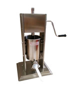 Wholesale meat processing machines resale online - 7L Manual Sausage Stuff Stainless Steel Filler for meat Processing machine
