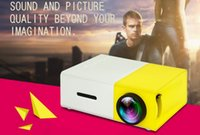 Wholesale Private Pc - YG300 Portable LCD Projector 320x240 Support 1080P With HDMI USB AV SD Input PC Smartphone For Private Theater Children Education