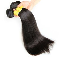 Factory Outlet Price 8A Cheap Virgin Hair Extensions Cheveux Humains Tissage Soyeux Straight 8 ~ 32inch Malais Peruvian Indian Brazilian Hair