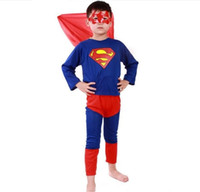 Wholesale Spiderman Models Kids - 2016 New Super Cool Cosplay Black Red Spiderman Super Men Costume Halloween Costumes for Kids Children Stage Costumes 5 Models High quality