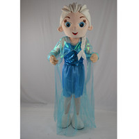 Wholesale Cartoon Character Costume Princess - Christmas New Princess Mascot Cartoon Costume Character Customize Adult Fancy Dress Party Free shipping