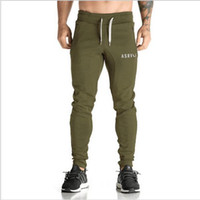 Wholesale Mens Chiffon - Golds Gym Pants Mens Tracksuit Sports Bottoms Cotton Fitness Skinny Joggers Sweat Pants Pantalones Chandal Hombre Casual Pants