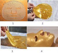 Wholesale facial collagen powder mask for sale - Group buy Gold Bio Collagen Facial Mask Face Mask Crystal Gold Powder Collagen Facial Mask Moisturizing