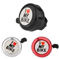 Wholesale mechanical gears wholesale - Wholesale-Bike Horn Metal Material Bicycle Bell Cycling Handlebar Crisp Ringing Gear Mechanical Bells Bike Ring