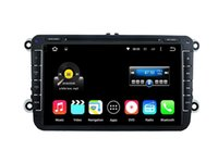 Wholesale Dvd Din Vw - 8'' Quad Core Android 5.1.1 Car DVD Radio Player For VW GOLF(MK6) GOLF(MK5) POLO(MK5) PASSAT(MK7) JETTA TIGUAN