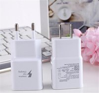 Wholesale Wholesale Travel Systems - 100% Real Fast Charger EU US 9V 1.67A 5V 2A Quick charging Travel Home Adapter for Samsung S6 S7 Note4 Andorid system 100pcs