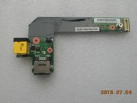 Wholesale Dc Lan - NEW Lenovo ThinkPad Edge E420 E425 E520 E525 DC Power Jack USB LAN Charge Board