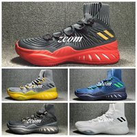 Wholesale Crazy Leather Shoes - Real Boost 2017 Men J Wall 3 Boost Andrew Wiggins Crazy Explosive PK Primeknit New Basketball Shoes JW 3 Retro Sports Sneakers Boots