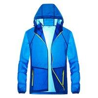jungen patchwork mantel großhandel-Marke Mann Jacke Mantel Schlank Schnell Trocknend Lässig Einfache Jacke Mantel für Herren Jungen Männer Jacke Mode Freizeit