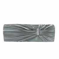 Wholesale Europe Celebrity Fashion - Woman new luxury wallet 2016 Europe brand fashion satin solid boutique celebrity clutch elegant diamond Lady casual evening bag
