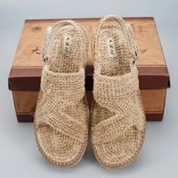 Wholesale China Shoes Sandal - Straw sandals,Shoes,Cosplay props accessories,production of sophisticated, beautiful, affordable, keep in the folk crafts