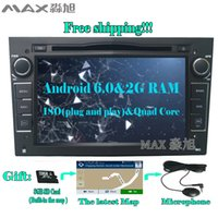 Pour Vauxhall Opel Astra H J J Vectra Antara Zafira Corsa Lecteur DVD de voiture avec Radio BT GPS WIF 2G + 16G Android 6.0