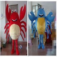 Wholesale Custom Crab Costume - High Quality Crab Mascot Costume Cartoon Character Costume Adult Size Sea Aniaml Crab Cartoon Mascot Christmas Party Costumes