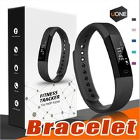 Wholesale Distance Watch - ID115 Smart Bracelet Band Fitness Tracker watch Wireless Touch Screen Sleep Monitor Activity Step Distance Calorie Counter for Android  iOS