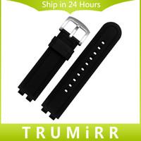 ingrosso pebble-Cinturino in gomma siliconica all'ingrosso-22mm per bracciale in acciaio Pebble Steel 2 cinturino di ricambio con cinturino in resina nera