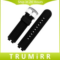 Wholesale pebble steel band for sale - mm Silicone Rubber Watchband for Pebble Steel Smart Watch Band Replacement Strap Resin Bracelet with Tool Spring Bar Black