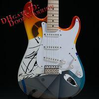 Wholesale Eric Clapton Guitars - 10S Custom Shop Eric Clapton Crash Rainbow Crashocaster Over the Rainbow Electric Guitar