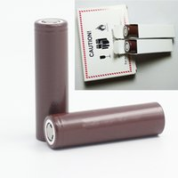 Wholesale True Capacity - 18650 HG2 3000mAh battery Capacity Max true 20A High Drain Batteries Rechargable Lithium Battery HG2 For Electonic Cigarette free shipping