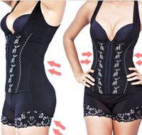 Wholesale Corset Perfect Shaper - Wholesale-Perfect shaper one piece shaper Corset Slimming Suit Shapewear Body Shaper Magic Underwear Bra Up recoil Underwear Shapewear