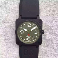 Wholesale Military Aviation - 42MM AUTOMATIC BR 03-92 AVIATION TYPE MILITARY SPEC STAINLESS STEEL GOLDEN HERITAGE MEN WATCH SAPPHIRE WRISTWATCH WATER RESISTANT