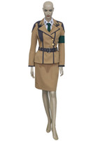 Wholesale custom code geass cosplay for sale - Customize Uniform Suit Code Geass Cecile Croomy Cosplay Costume Unisex Cos Holloween Party Clothing Outfits Custom Made High Quality
