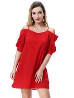 Wholesale elegant ladies skirt - Wholesale Solid Pure color Ladies sling skirt women braces skirts lady girl suspender dress elegant woman dresses