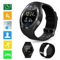 Supporto smart per orologio tondo nano SIM TF con smartwatch Bluetooth 3.0 per uomini e donne Android iOS e iPhone