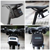 Wholesale Fixie Seat - ROSWHEEL Fixed Gear Fixie Road Bike Bicycle MTB Saddle Back Seat Seatpost Cycling Tail Pouch Package Bag M L Size